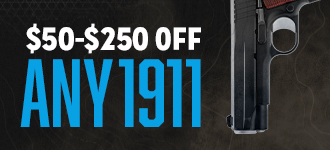 $50-$250 off any 1911