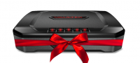 Vaultek VT20i with a big red bow for the holiday